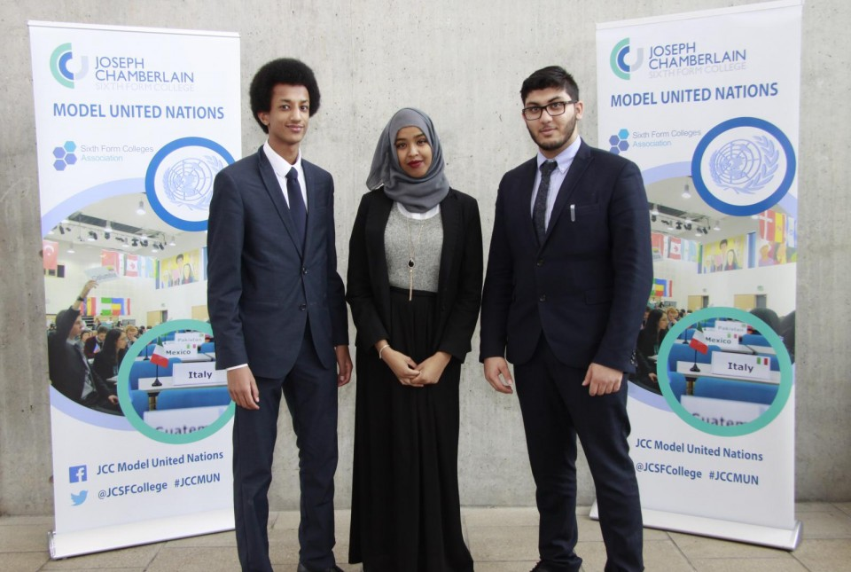 St Alban's sixth formers excel at tackling world issues